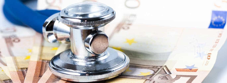 Das Gesundheitsökonomie Fernstudium - Geldscheine