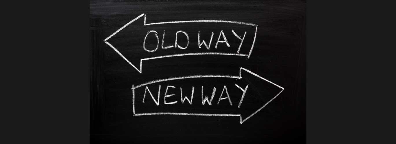 Change Management - Old Way vs. New Way