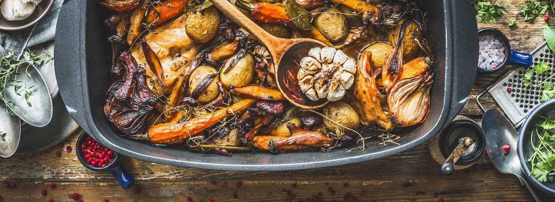 Slow Cooking -  Gemüse wird sanft gegart